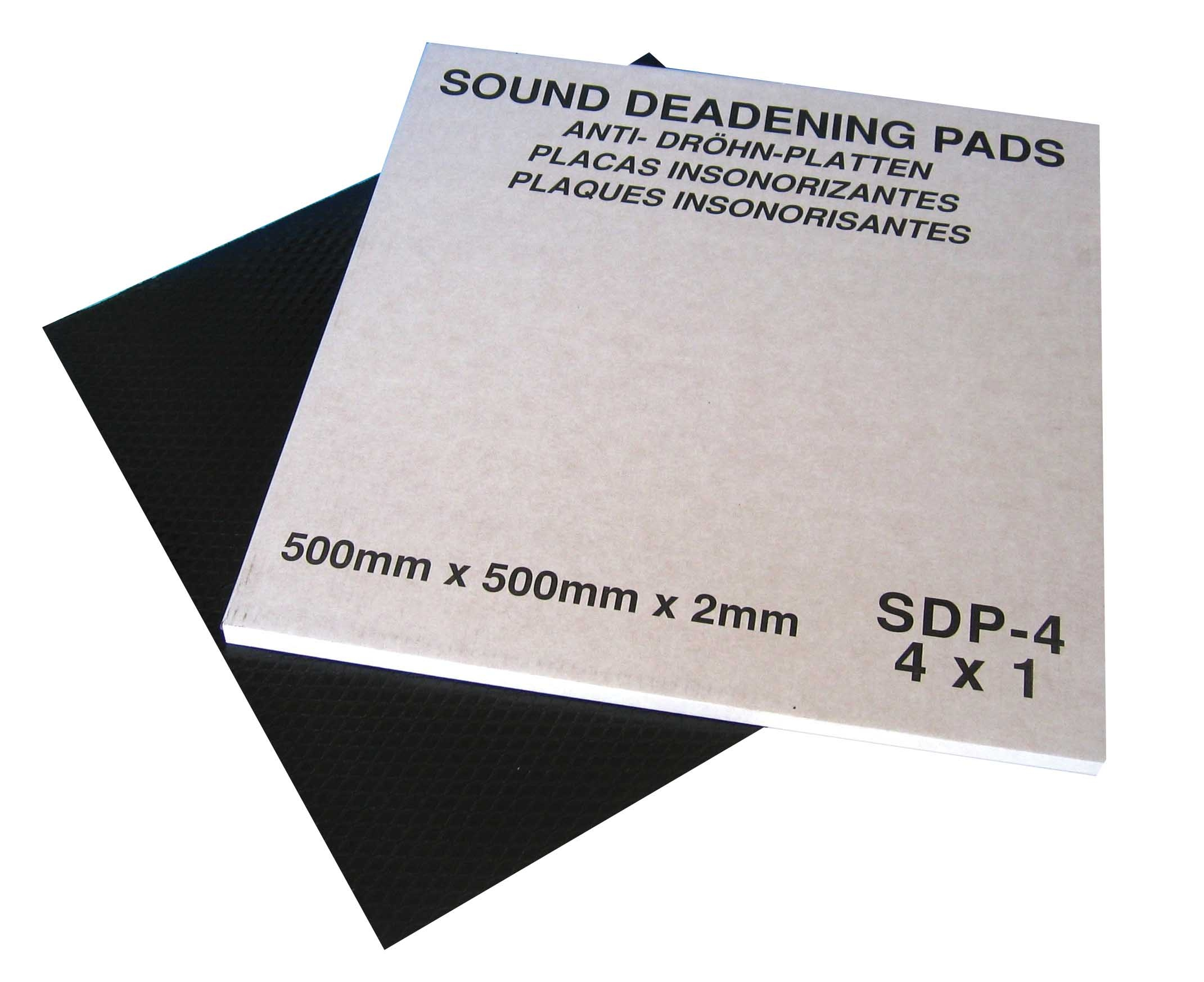 Sound Deadening Pads 500 X 500 mm PK4